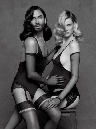 Conchita Wurst und Ashleigh Good