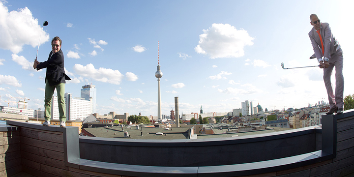 ic! Berlin - Dachterrasse