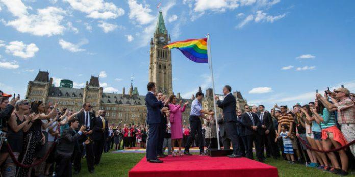 Justin Trudeau auf dem Parliament Hill