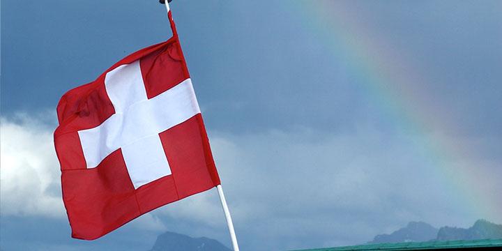 Schweiz Regenbogen