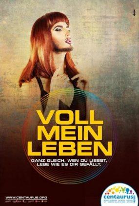 """Plakatkampagne """"Voll mein Leben"""""""