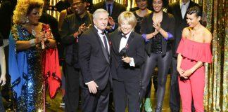 Klaus Wowereit, Judy Winter und die Stars der Gala