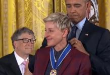 Ellen DeGeneres und Barack Obama