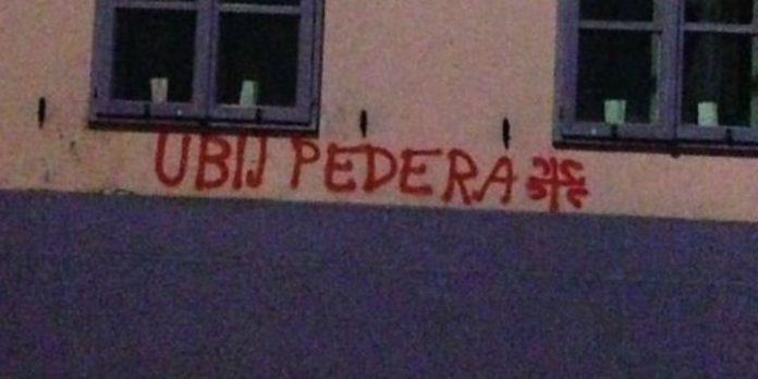 Grafitti auf der