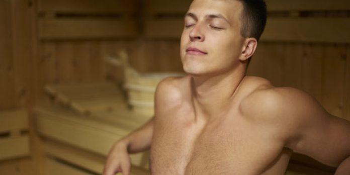 studio flair sex in sauna