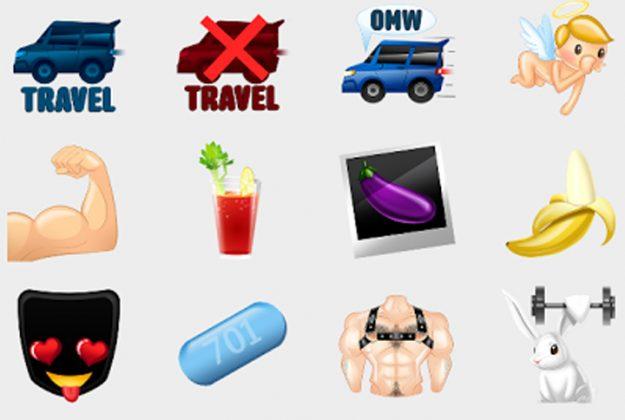 Grindr-Emojis