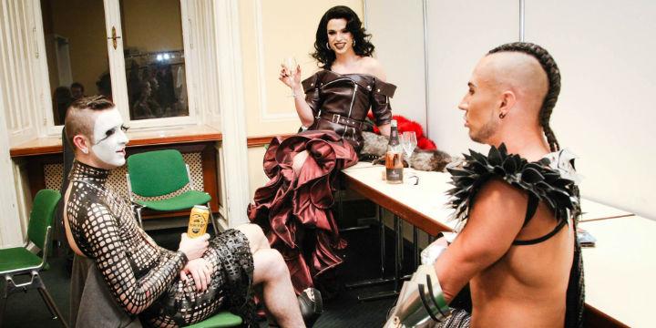 Tamara Mascara backstage