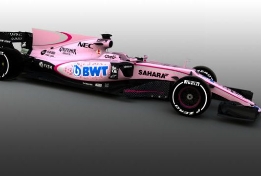 Force India Wagen 2017