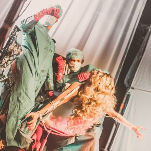 Tamara Mascara beim Circus