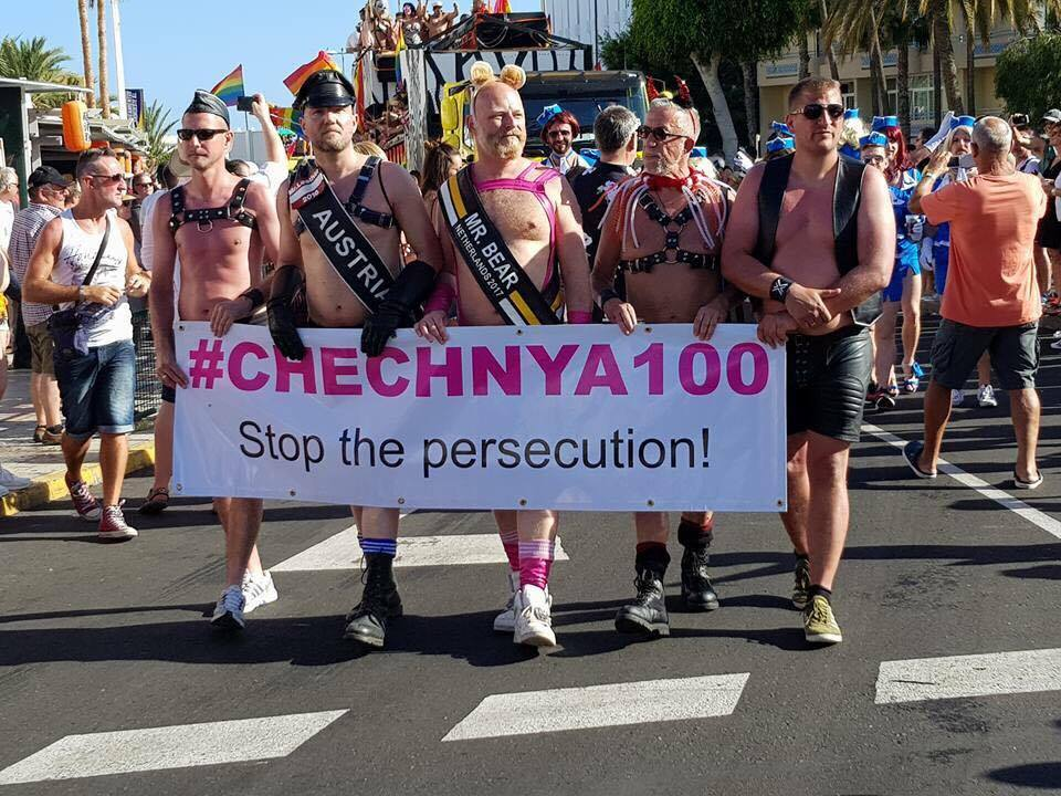 #chechnya100 in Gran Canaria