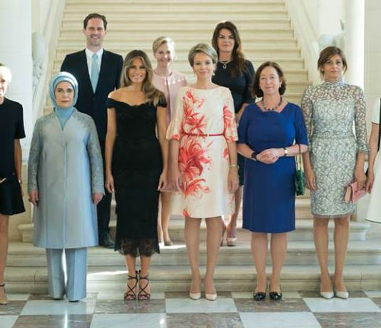 """Damenprogramm"" beim NATO-Gipfel"