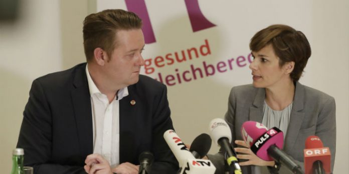 Mario Lindner und Pamela Rendi-Wagner
