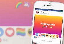 Happy Pride mit Facebook
