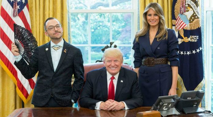 Nikos Giannopoulos, Donald und Ivanka Trump
