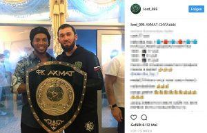 Ronaldinho und Magomed Daudow
