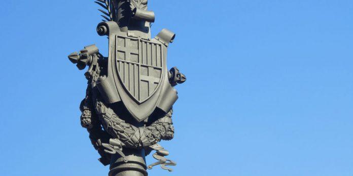 Wappen von Barcelona