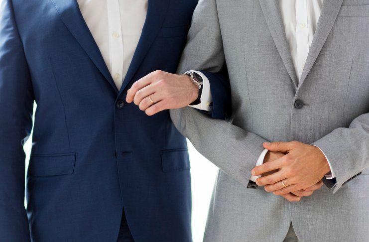 Symbolbild: Schwules Ehepaar