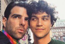 Zachary Quinto und Miles McMillan