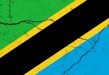 Flagge von Tansania