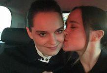 Ellen Page und Emma Portner