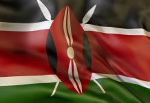 Flagge von Kenia