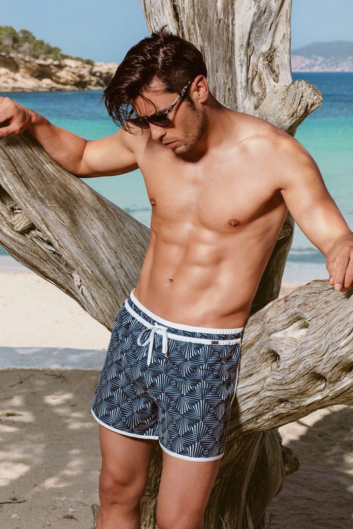 Blue Swimshort