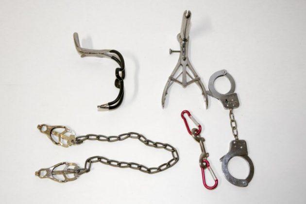 Sichergestelltes Sex-Spielzeug
