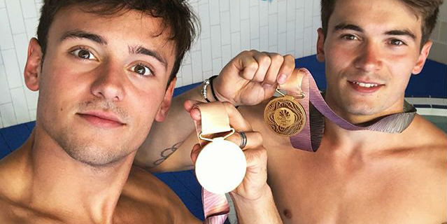 Tom Daley und Dan Goodfellow