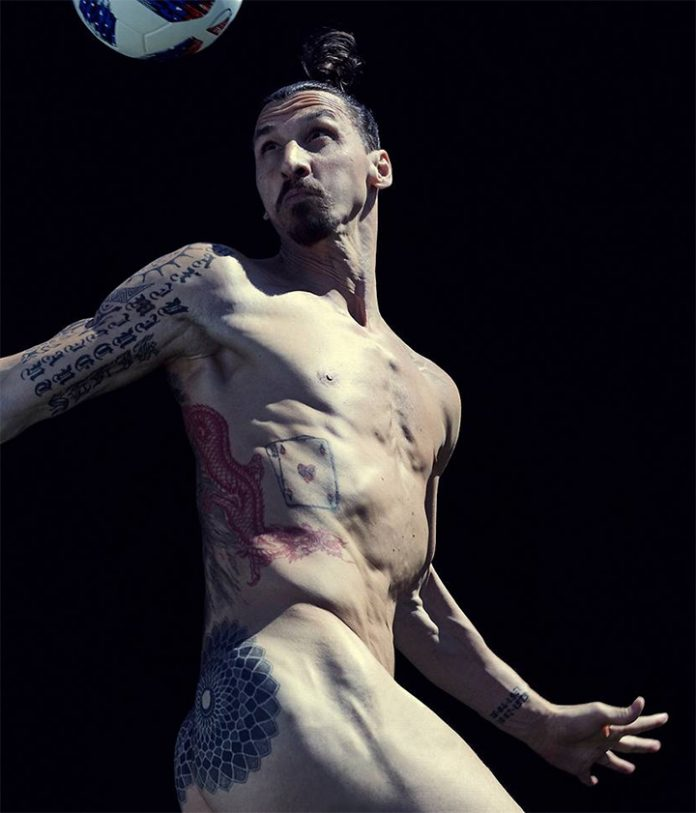 Bild des Tages: Zlatan Ibrahimović für ESPN Body Issue | GGG.at