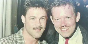Stephen Adams und Kevin Powell
