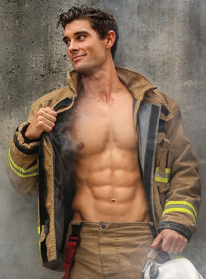 Sexy Feuerwehrmänner