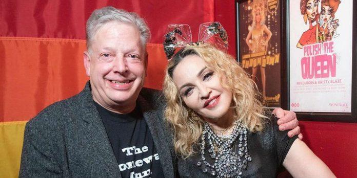 Madonna im Stonewall Inn