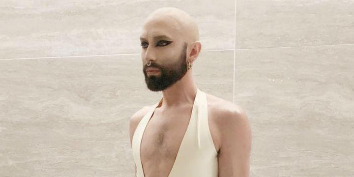 Conchita am Opernball