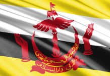 Flagge von Brunei