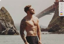 Gus Kenworthy in San Francisco