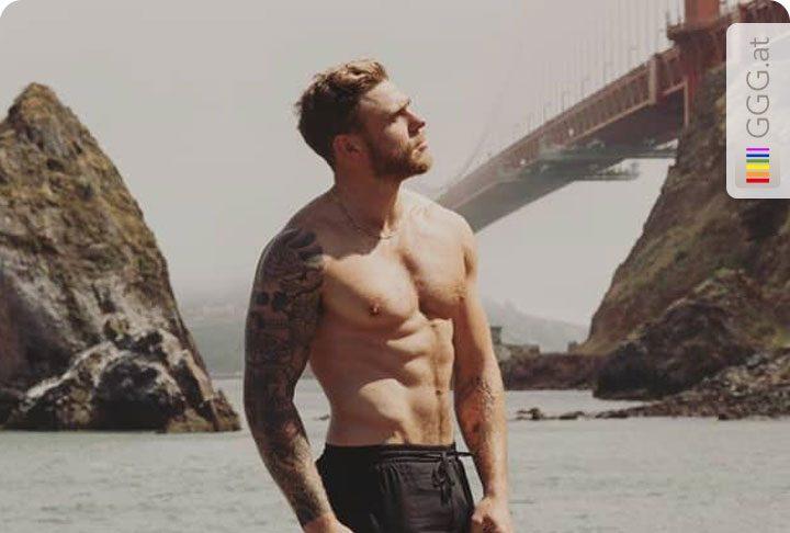 Gus Kenworthy in San Francisco