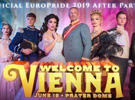 """Plakat für """"Welcome toi Vienna"""""""