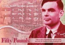 Alan Turing - Banknotenentwurf