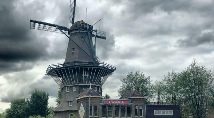 Sujetbild: Amsterdam - Windmühle