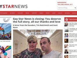 Screenshot GayStarNews