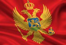 Flagge von Montenegro