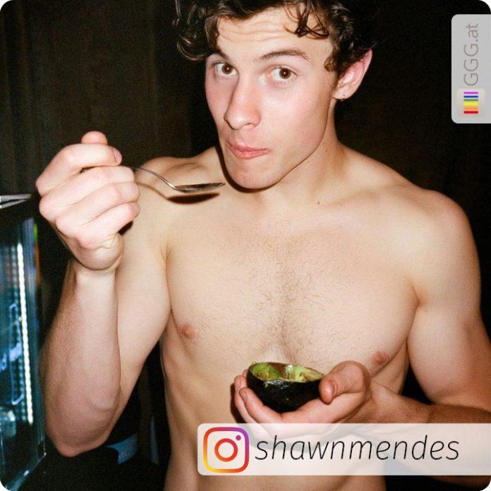Shawn Mendes auf Instagram