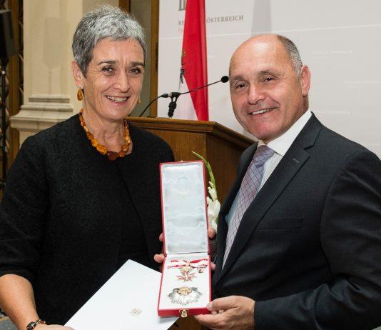 Ulrike Lunacek und Wolfgang Sobotka