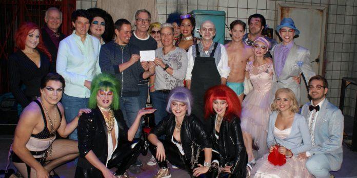 Rocky Horror Show: Geldübergabe