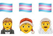 Transgender-Emojis