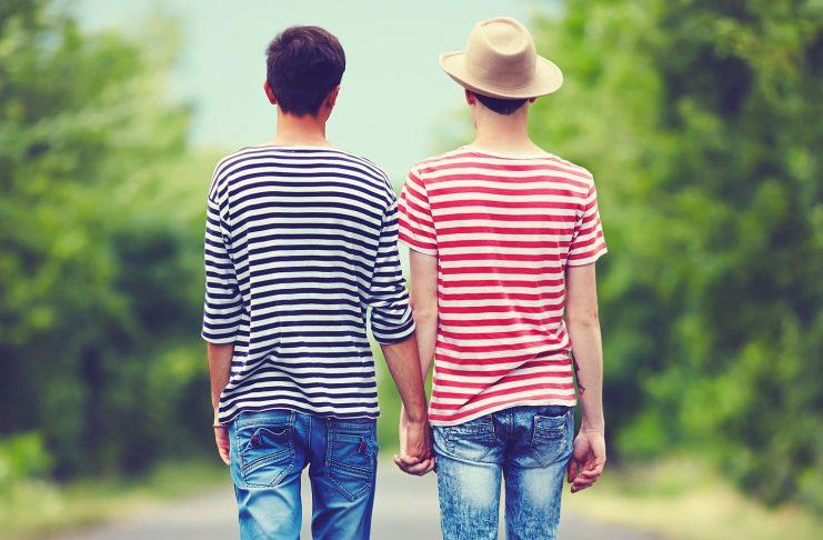 Sujetbild: Schwule Jugendliche
