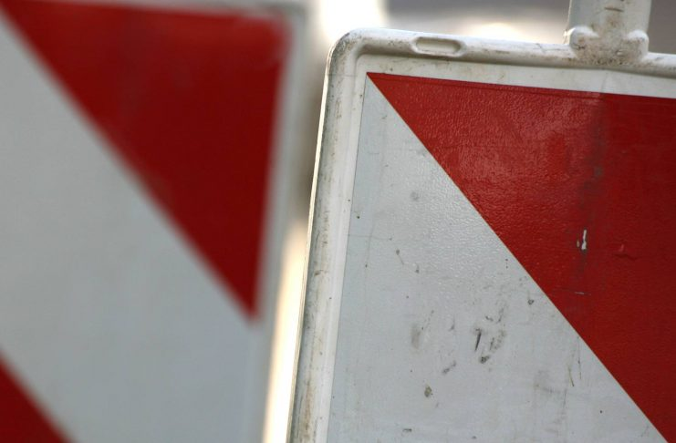 Symbolbild: Warnbake