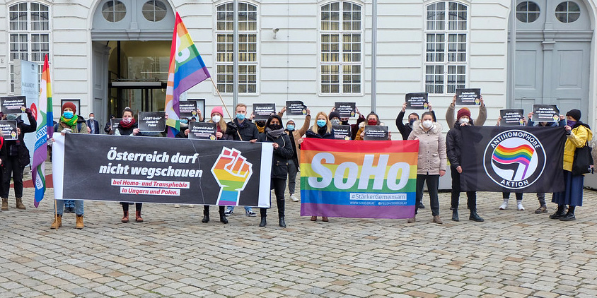 SoHo-Demo am 21. Dezember