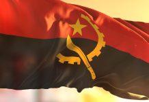 Flagge von Angola