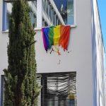 Regenbogenflagge/Diözesanhaus Feldkirch